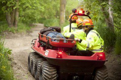 Поисково-спасательное оборудование для вездеходов