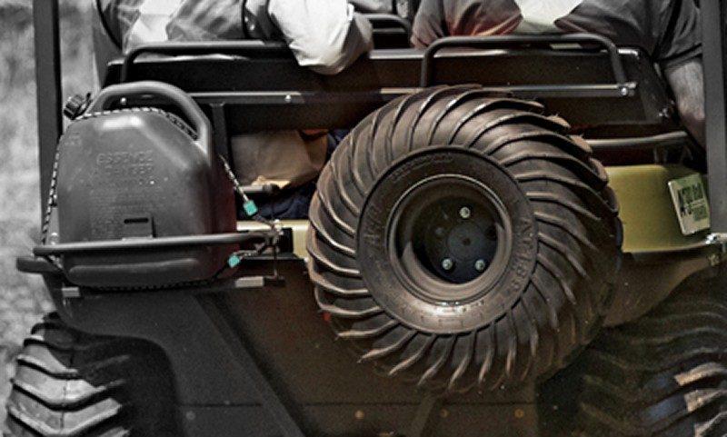 Крепление запасного колеса АРГО
