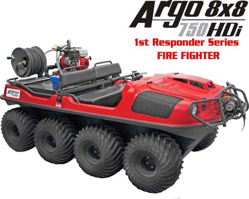 Пожарный вездеход ARGO